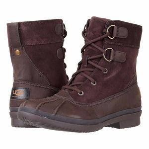 B2G1 UGG Azaria Brown Winter Duck Boots